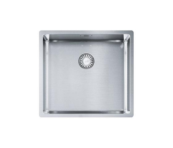 Franke Box Sink BXX 110-45/ BXX 210-45 Stainless Steel by Franke Kitchen Systems | Kitchen sinks