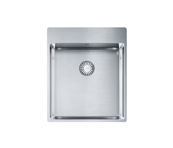 Franke Box Sink BXX 210-40 A Stainless Steel by Franke Kitchen Systems | Kitchen sinks