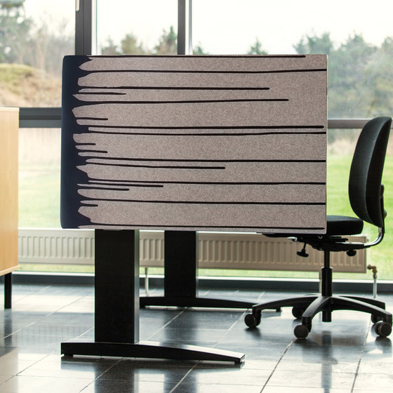 Kurage Table Screen System 50 | Rounded | Street Vice by Kurage | Table dividers