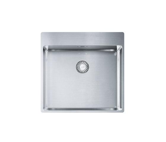 Franke Box Sink BXX 210-50 A Stainless Steel by Franke Kitchen Systems | Kitchen sinks