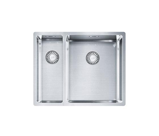 Franke Box Sink BXX 160-34-16/ BXX 260-34-16 Stainless Steel by Franke Kitchen Systems   Kitchen sinks