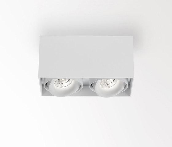 Minigrid On SI | Minigrid On 2 Box DIM8 + 2 x Minigrid Snap-In Reo 92718 by Delta Light | Ceiling lights