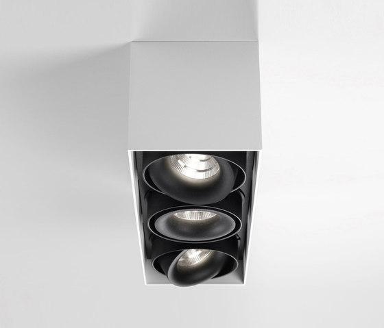 Minigrid On SI   Minigrid On 3 Box DIM8 + 3 x Minigrid Snap-In Reo 83033 by Delta Light   Ceiling lights