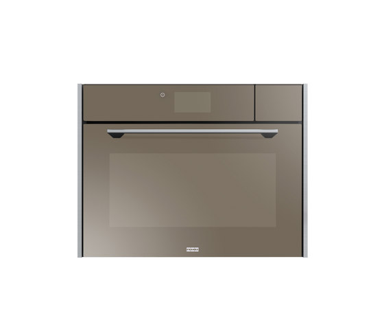 Frames by Franke Oven compact Multifunction Steam FSO 45 FS Stainless Steel Glas Champagne by Franke Kitchen Systems | Steam ovens