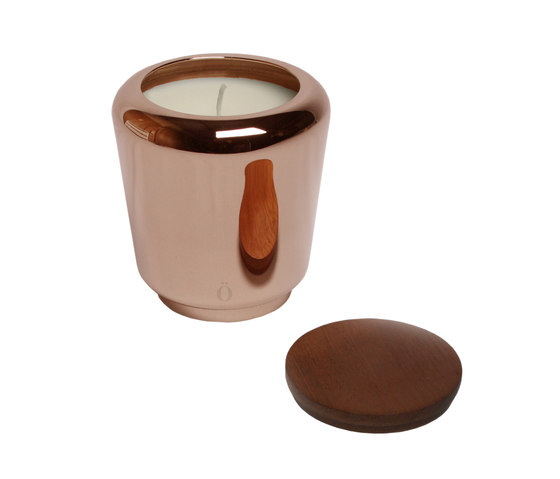 Scents Collection - Pottery Burn Medium - copper de Stabörd | Candelabros