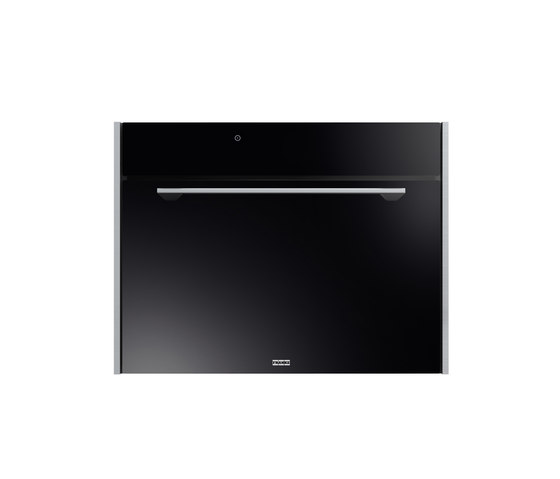 Frames by Franke Oven FMO 45 FS P TFT BK XS Stainless Steel Glass Black by Franke Kitchen Systems | Ovens