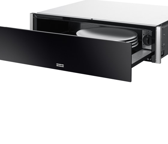 Frames by Franke Warming Drawer FS DRW 14 Stainless Steel Glass Black by Franke Kitchen Systems   Ovens