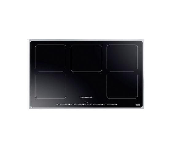 Frames by Franke Hob FHFS PV 865 1I 2FLEX ST BK Stainless Steel Glass Black by Franke Kitchen Systems | Hobs