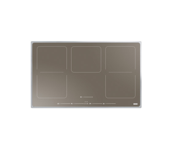 Frames by Franke Hob Induction 2-Flex Stainless Steel Glass Champagne by Franke Kitchen Systems | Hobs