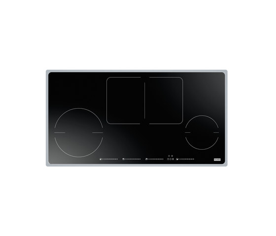 Frames by Franke Hob Induction 1-Flex Stainless Steel Glass Black by Franke Kitchen Systems | Hobs