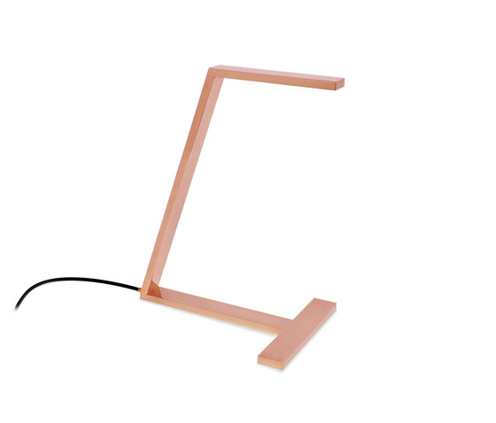 LDW Collection - Leaf Desk - copper by Stabörd | Table lights