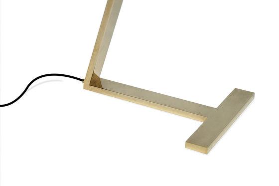 LDW Collection - Leaf Desk - brass de Stabörd | Lámparas de sobremesa