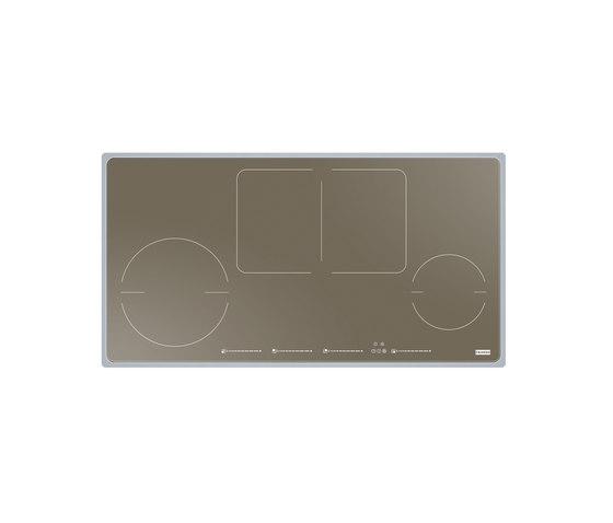 Frames by Franke Hob FHFS SY 864 2I 1FLEX ST BK Edelstahl, Glas champagne by Franke Kitchen Systems | Hobs