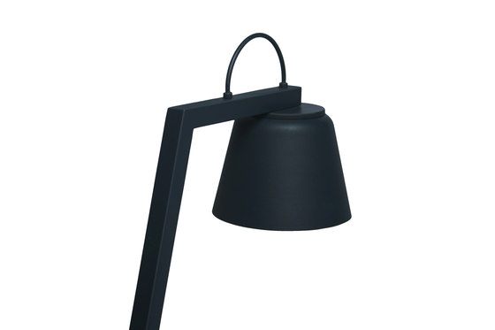 LDW Collection - Shadow Desk - steel by Stabörd | Table lights