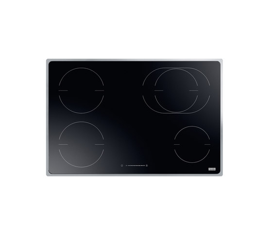 Frames by Franke Hob FHFS 784 3I 1OVAL T BK Stainless Steel Glass Black by Franke Home Solutions | Hobs