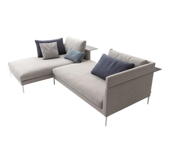 Pilotis sofa by COR | Modular seating systems