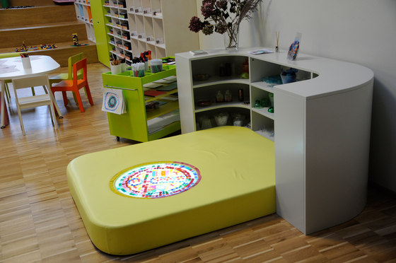 Soft construction game by PLAY+   Play furniture