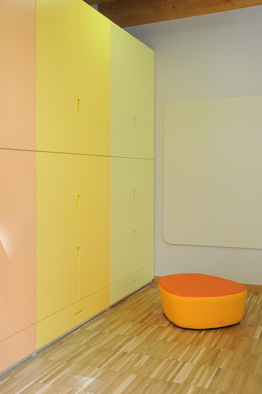 Kindergarten wardrobe by PLAY+ | Kids storage furniture