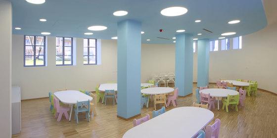 Table oval top de PLAY+ | Mesas para niños