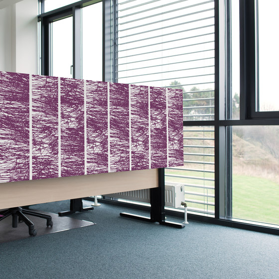 Kurage Table Screen System 50 | Square | Forest Few by Kurage | Table dividers