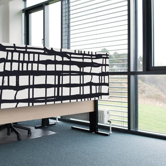 Kurage Table Screen System 50   Square   Street Versa by Kurage   Table dividers