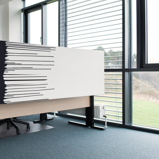 Kurage Table Screen System 50 | Square | Street Vise by Kurage | Table dividers