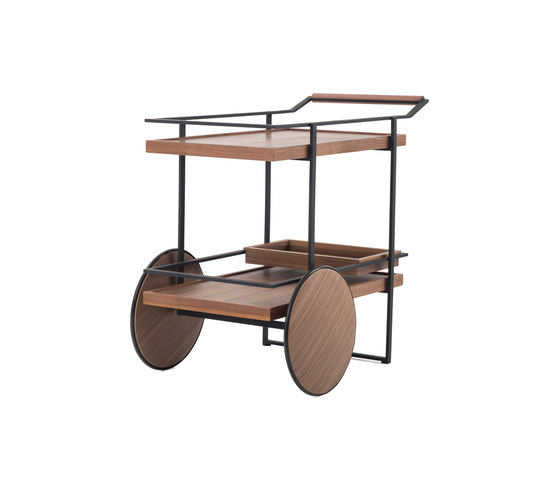 James Bar Cart de Stellar Works | Carritos de servicio / Carritos de bar