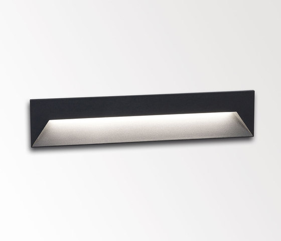 Logic W L by Delta Light | Outdoor recessed wall lights