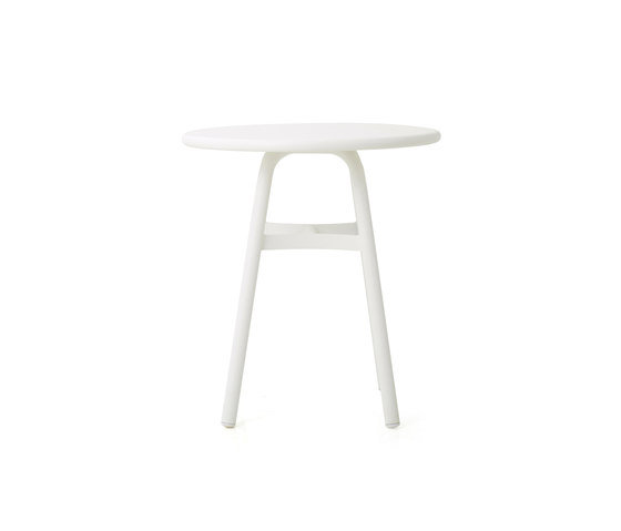 Ming Aluminium Café Table by Stellar Works   Side tables