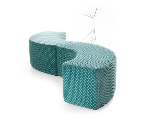 Dots Curve de Lande | Elementos asientos modulares