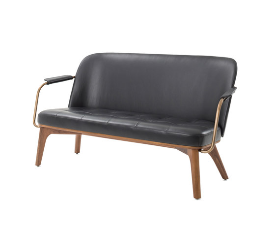 Utility Lounge Chair Two Seater by Stellar Works | Sofas