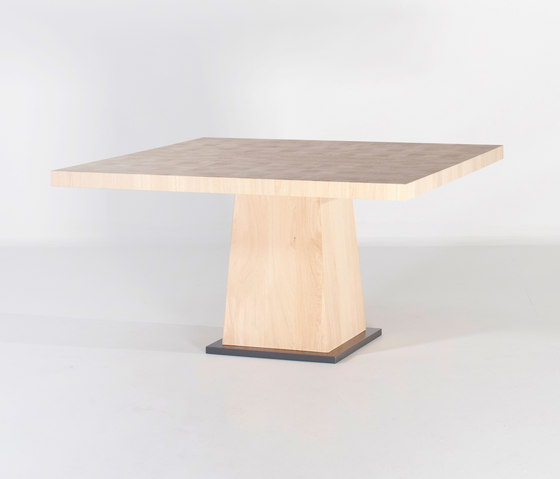 Kops dining table square by Van Rossum | Dining tables