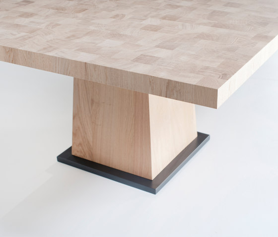 Kops square table by Van Rossum | Dining tables