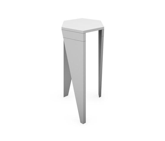 Trigon Hot Desk von Lande | Besprechungs-Stehtische