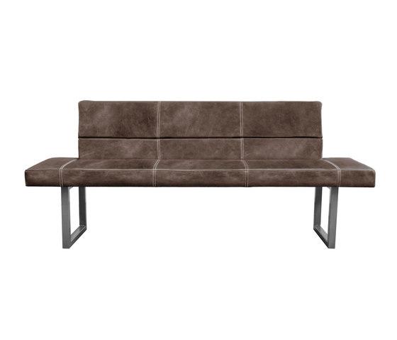 Bench Home Bank mit Rückenlehne von KFF | Loungesofas