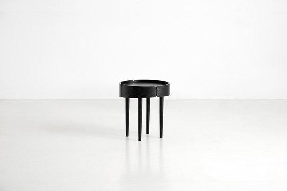 Skirt Coffee Table High de WOUD | Mesas auxiliares