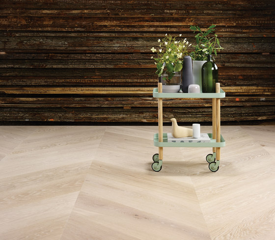 GrandPattern | Chevron by DINESEN | Wood flooring