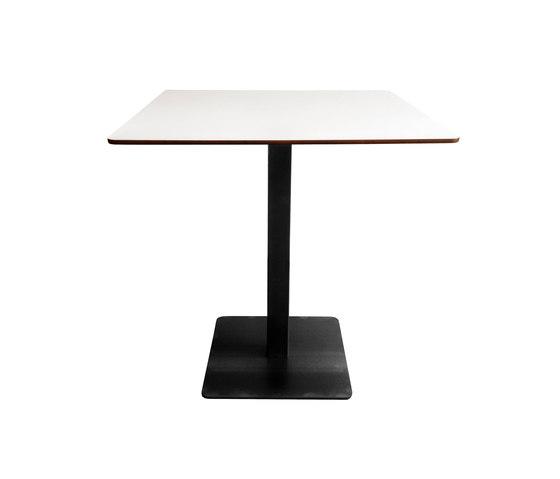 Modul Plus Square table de KFF | Mesas para cafeterías