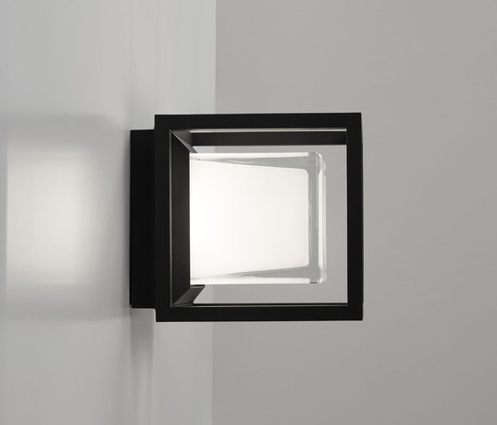 Montur S LED by Delta Light | Outdoor wall lights