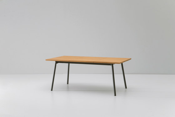 Bitta dining table extendable 6 guests by KETTAL | Dining tables
