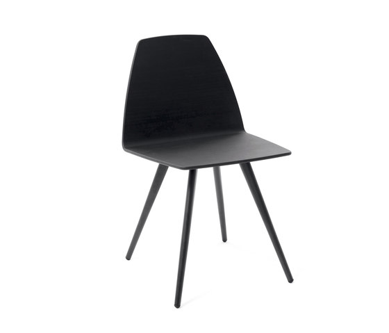 Sila Chair Cone Shaped de Discipline | Sillas de visita