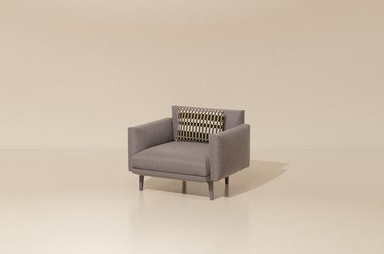 Boma club armchair di KETTAL | Armchairs