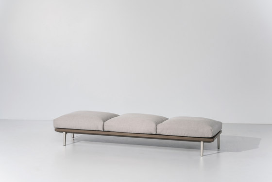 Boma bench 3-seater de KETTAL | Bancs