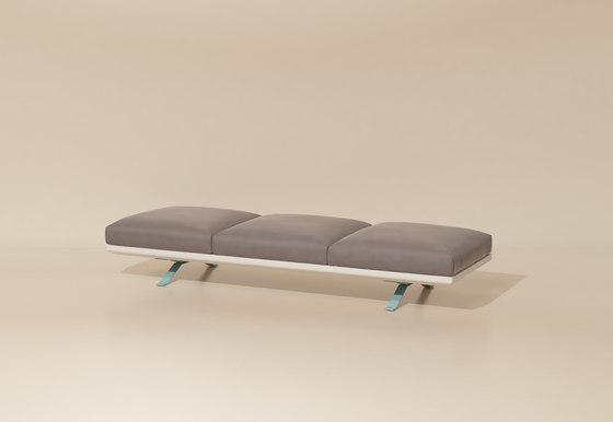 Boma bench 3-seater de KETTAL | Bancs de jardin
