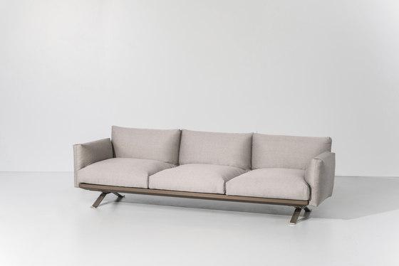 Boma 3 seater sofa von KETTAL | Gartensofas