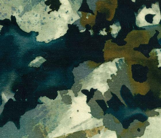 Monet - Alga/Inchiostro de Rubelli | Tejidos decorativos