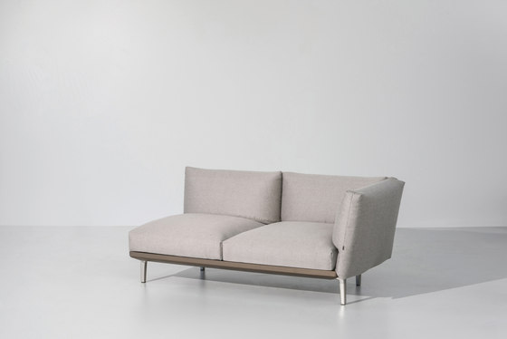 Boma right corner module by KETTAL | Garden sofas