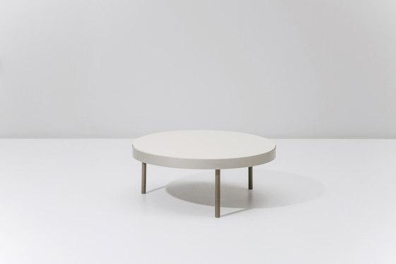 Boma coffee table ø 91 di KETTAL | Tavolini bassi