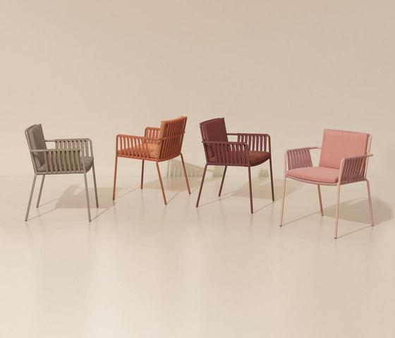 Net dining armchair von KETTAL | Stühle