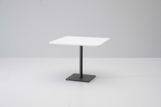 Net table white marble by KETTAL | Dining tables